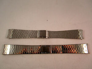 Stainless-Steel-Strap-Band-Clasp-For-Watches-X2