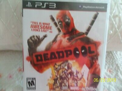Deadpool (Sony PlayStation 3, 2013) PS3 Video Game