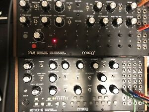Moog Mother 32 and DFAM