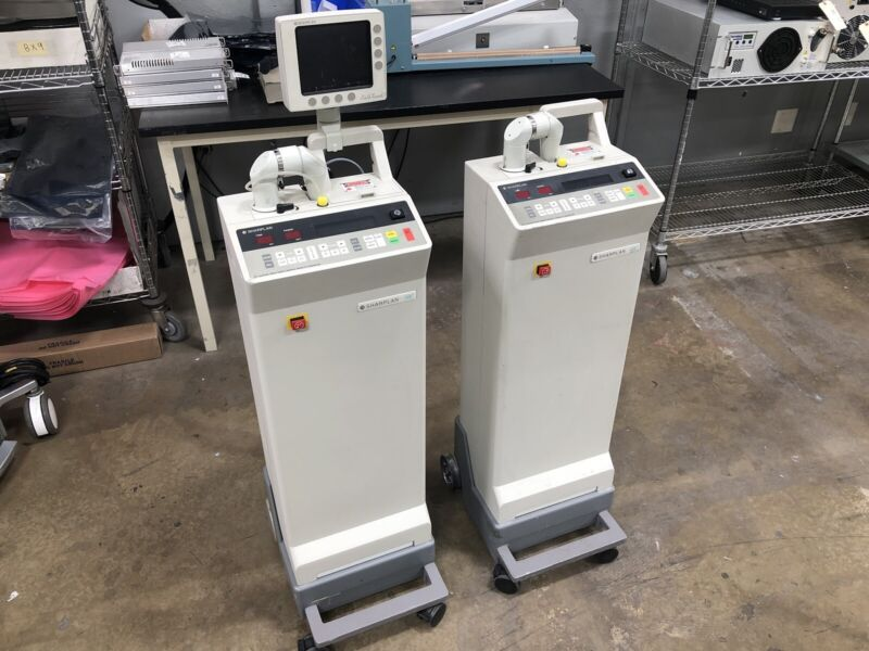 Laser Sharplan 40C and Sharplan 30C CO2 Lasers Lot of 2 Units - AS IS