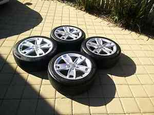 "Audi A3 17"" Alloy wheels and tyres 225 45 17 Palmyra Melville Area Preview"
