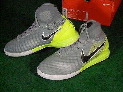 95356e221 NIB Nike MagistaX Proximo II DF IC Indoor Turf Soccer Shoes Cleats 10 Gray   175