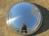 """OER Stainless 8 1//8/"""" Dia 1940 Ford Hub Cap /""""Ford Deluxe/"""" Script"""
