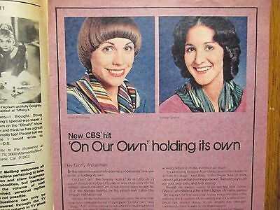 Jan  22  1978 Chicago Tribune Tv Week  On  Our Own Lynnie  Greene Bess Armstrong