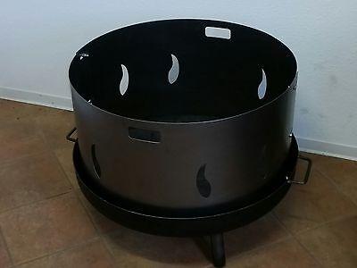 feuerschale 80 cm bonn mit loch garten. Black Bedroom Furniture Sets. Home Design Ideas