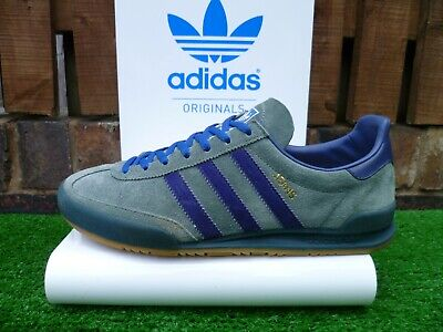 VINTAGE ADIDAS JEANS MKII  80s casuals 2015 UK8.5 VERY RARE OG COLOURWAY