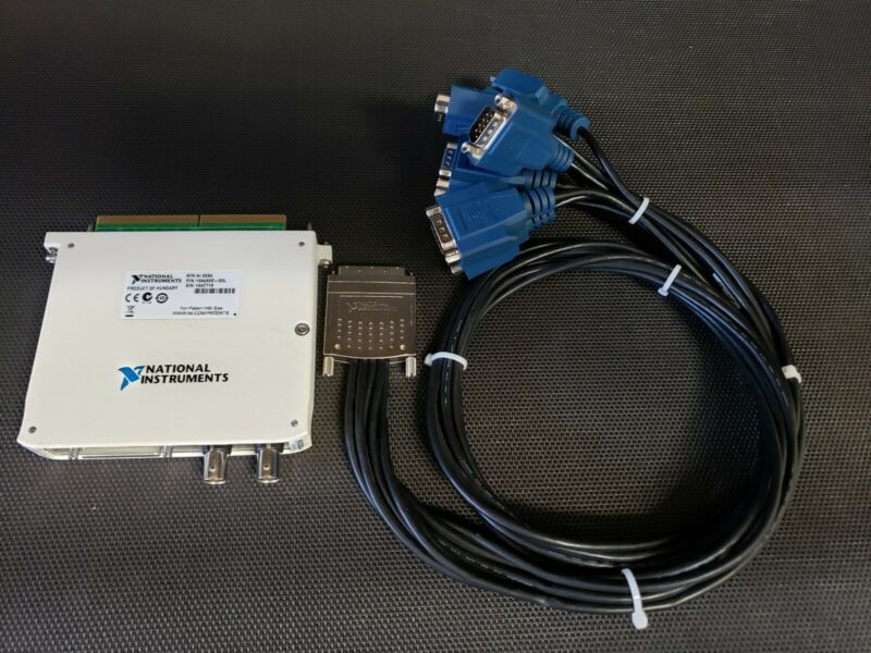 National Instruments NI 6584 Module full duplex differential with Serial Cable