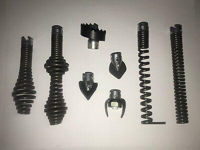 Fit Ridgid K-375 K-380 K-40k-50 Drain Cleaning Sectional Machine Part Auger Bits