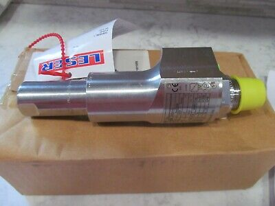34 Leser 4374.3142 Compact Performance Threaded Safety Relief Valve