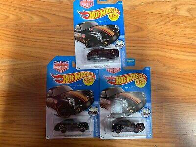 Hotwheels Porsche 356A Outlaw Lot of 3