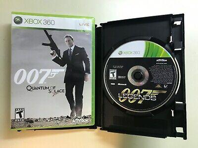 Xbox 360 James Bond Lot - 007 Legends & Quantum of Solace - 2 Games