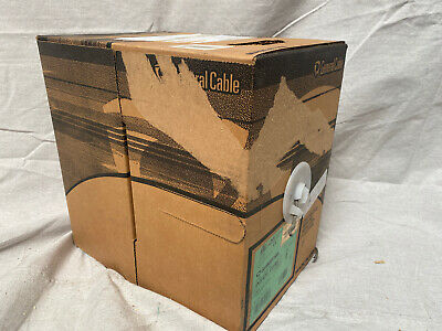 General Cable W2133017 Unshielded Category Cable Gray Jacket Color 4 24 Awg