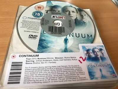 Continuum DVD - DISC ONLY