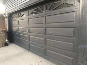 Garage Door For Sale (used. 16X7)