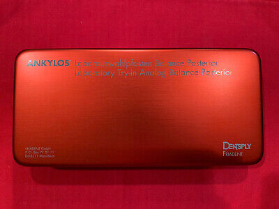Ankylos Dentsply Friadent Lab Trial Try In Analog Balance Posterior Lot Of 57