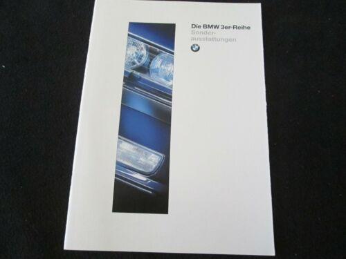 1995 1996 BMW 3 Series German Option Equipment Brochure M3 318i 328i E36 Catalog