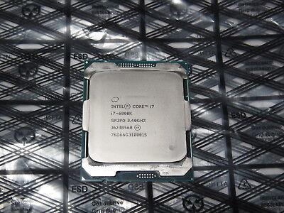Intel Core i7-6800K 3.4Ghz (3.6Ghz Turbo) 6-Core 15MB CPU Processor SR2PD