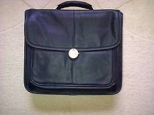Dell Leather Laptop Bag Eastwood Ryde Area Preview