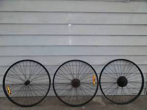4x Mountain Bike Wheels 26 Inch Size 80 The Lot Or Prices Below