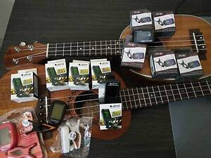 Clip On Tuner Guitar Ukulele Bass Banjo Violin Chromatic Bull Creek Melville Area Preview