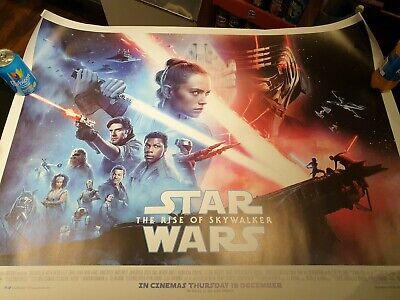 STAR WARS THE RISE OF SKYWALKER 2019 ORIGINAL CINEMA QUAD POSTER