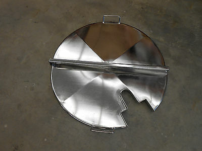 800mm Stainless Steel Process Tank Cover Lid With Mixer Access Hole.