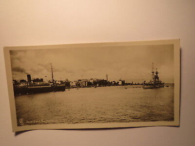PORT SAID THE HARBOUR DER HAFEN SCHIFFE GYPTEN FOTO KARTE