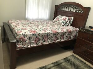 3 piece queen bed set