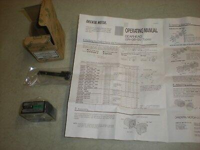 Oriental Motor 2gn10xk Gearhead - Nib