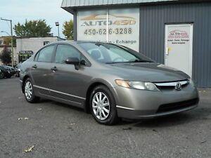 Honda Civic DX-G 2007 ***AIR CLIMATISE,AUTOMATIQUE***