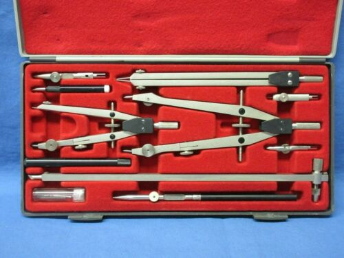 VINTAGE CHARRETTE DRAFTING SET MADE IN GERMANY WITH CASE