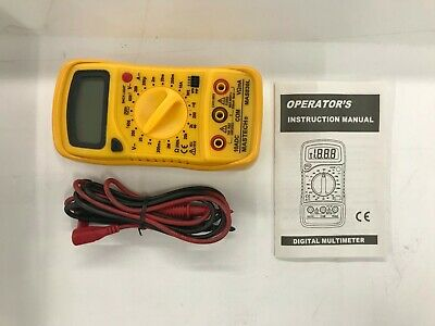 Mastech Mas830l Dmm Digital Multimeters Dc Current Resistance Acdc Voltage