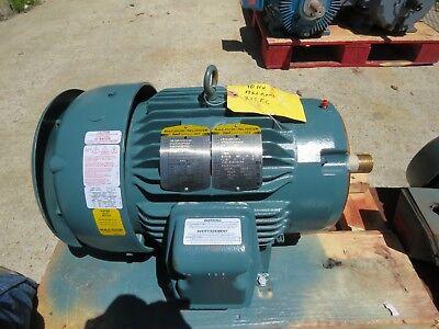 Baldor Electric Motor Vecp3774t4 10 Hp 460v 1760 Rpm 215tc Fr New