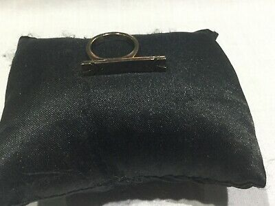 House of Harlow 1960 New & Genuine Antique Gold Plated Rectangle Ring Size 7