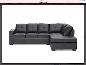 Corner Chaise with Sofa Bed Meadow Springs Mandurah Area Preview