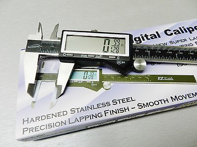 "iGaging Digital Electronic Caliper 6"" Precision 3 Way Reading Large LCD EZ Cal B"