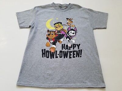 Boy's Paw Patrol Nick Jr. Halloween T-Shirt, Size L 5T, New