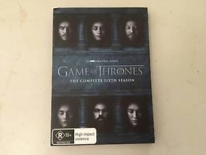 Game Of Thrones Season 6 Cds Dvds Gumtree Australia