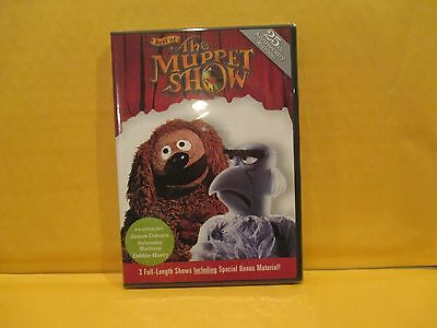 BEST OF THE MUPPET SHOW (DVD, 2001) James Coburn,Syl Stallone, Debbie Harry/Mfg (Muppet Show Beste)
