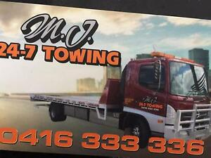 Tow Truck Towing Service Tilt Tray MJ 24/7 Towing Brunswick Moreland Area Preview