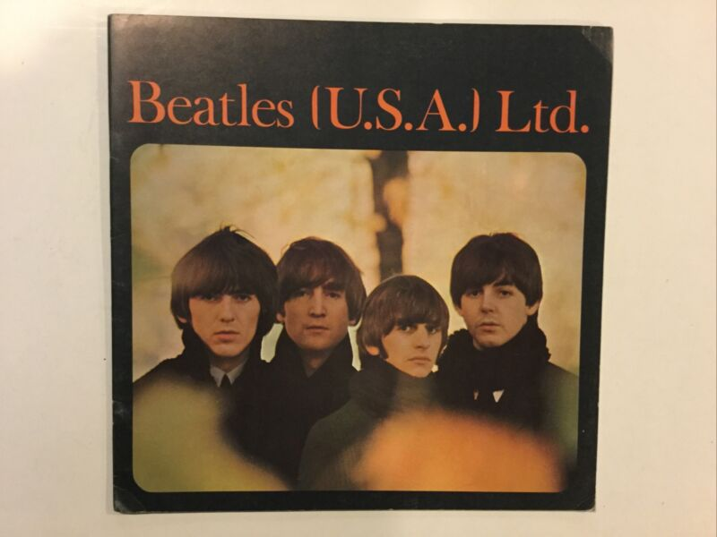 Vintage BEATLES (U.S.A.) Ltd. TOUR ORIGINAL CONCERT PROGRAM BOOK 1965
