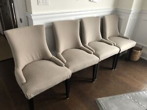 4 Paisley Dining Room Chairs for Sale $150 each.