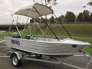 Ally Craft 375 Tinny, trailer, Yamaha 25hp Oxenford Gold Coast North Preview