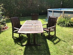 Table Teck | Achetez des articles de terrasse et jardin dans Grand ...