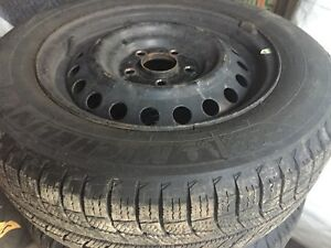 "15"" winter tire with rims for honda civic"