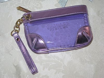Versace Cosmetic Zippered Case. New. Authentic.