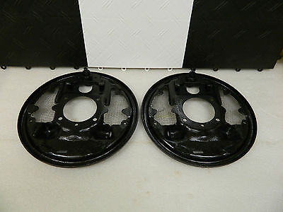 Original Rear GM 1957-62 Corvette HD Large Screen Vented Backing Plates RPO 687