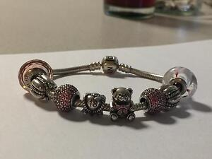 Pandora Charms and Bracelet for sale Carine Stirling Area Preview