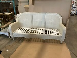 Summer Classics wicker resin couch
