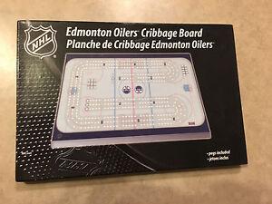 Edmonton Oilers crib board  Edmonton Edmonton Area image 1
